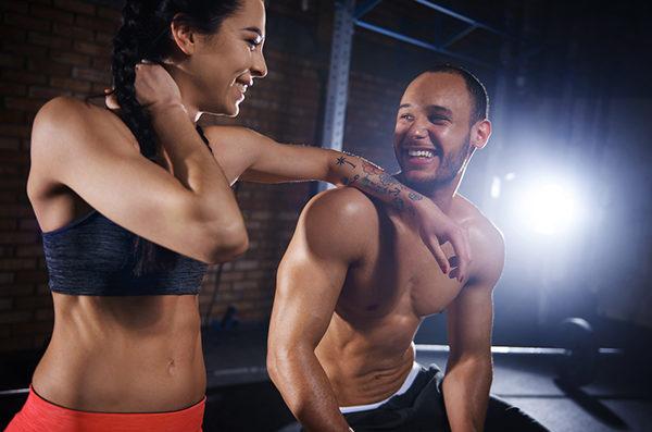 Figur und Muskeltraining