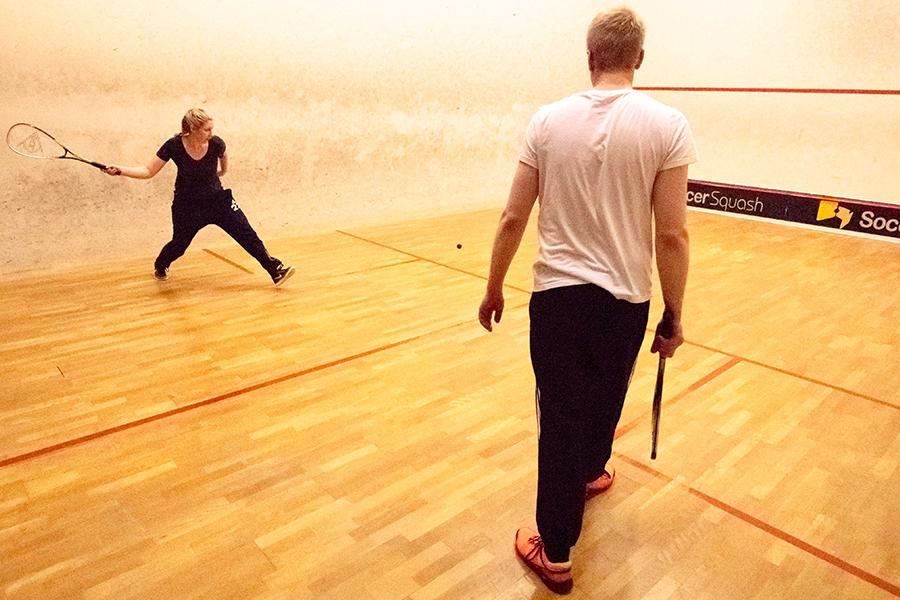 Squash im Matchpoint Nordhorn
